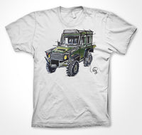 Land Rover Defender 90 - All Seasons  #ContinuousCar Unisex T-shirt