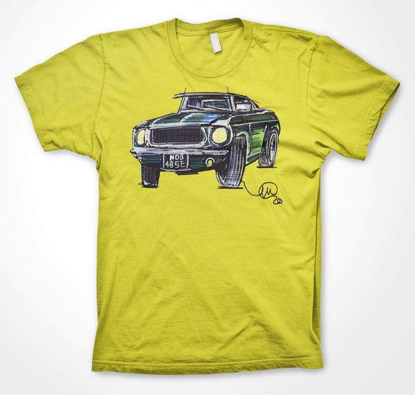 Ford Mustang #ContinuousCar Unisex T-shirt