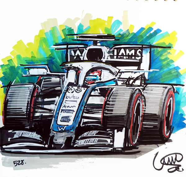 #ContinuousCar No.528 | Williams Racing FW43 F1 | George Russell #63