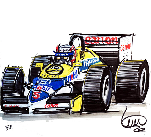 "#ContinuousCar No.531 | Williams Racing F1 | ""Red 5"" 