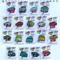Limited edition Land Rover Defender enamel pin badge - Green | 50 only