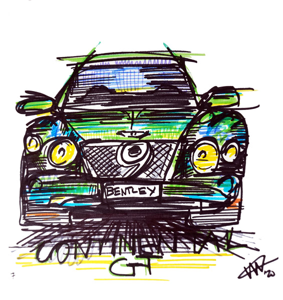 #ContinuousCar No.7 | Bentley Continental