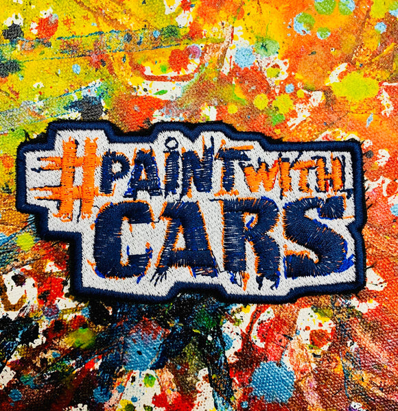 Sew-on patch #paintwithcars - POPBANGCOLOUR Shop