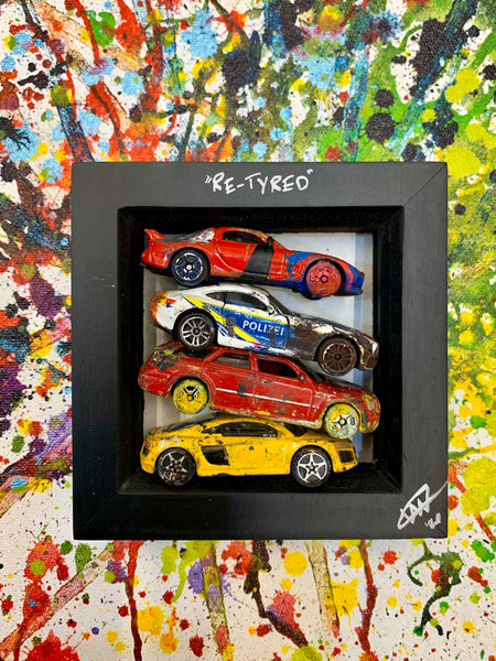 Small PopBangColour 'Re-Tyred' | Sports Car Scrapyard | BATCH 2 - POPBANGCOLOUR Shop