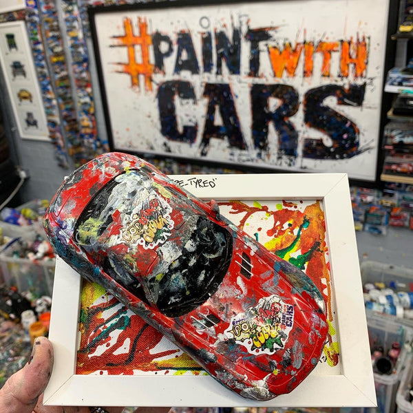Medium PopBangColour 'Re-Tyred' | Mercedes SLS | BATCH 2 - POPBANGCOLOUR Shop