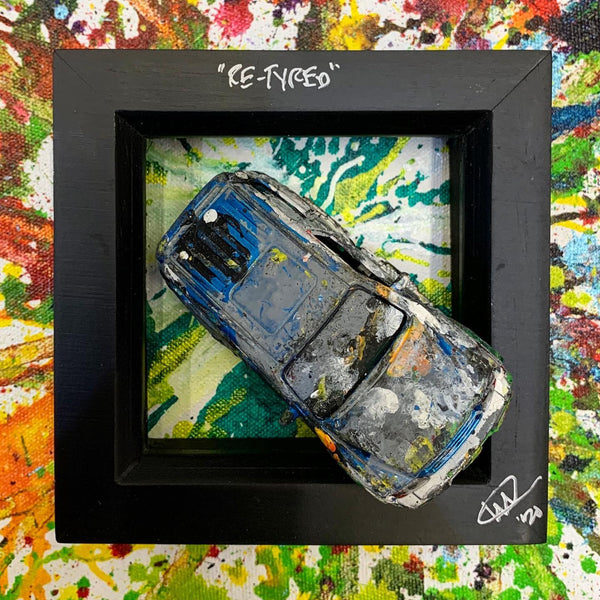 Small PopBangColour 'Re-Tyred' | Mitsubishi Shogun | BATCH 2 - POPBANGCOLOUR Shop