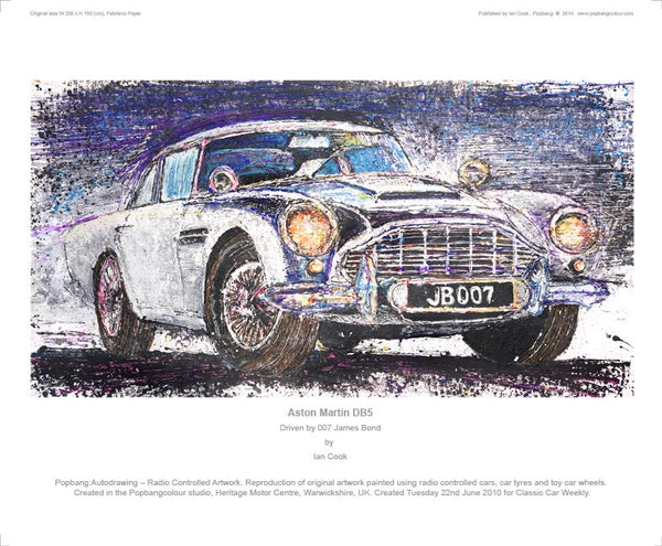 Aston Martin DB5 (007 James Bond) - POPBANGCOLOUR Shop