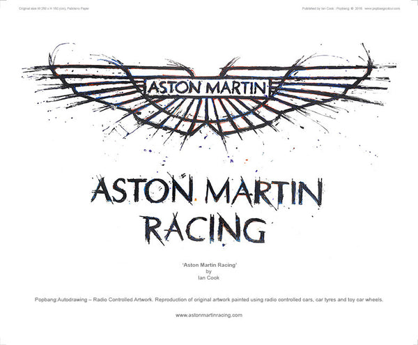 Aston Martin Racing Logo - POPBANGCOLOUR Shop