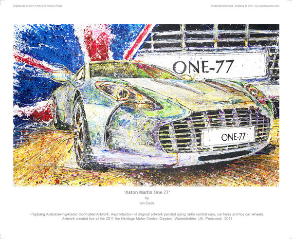 Aston Martin One-77 - POPBANGCOLOUR Shop