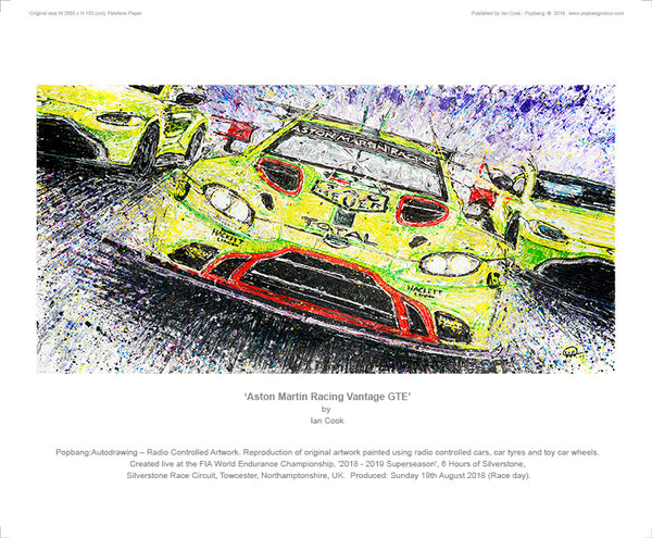 Aston Martin Racing Vantage GTE - POPBANGCOLOUR Shop