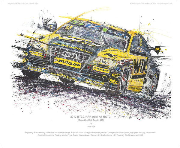 Audi A4 BTCC NGTC 2012 (Rob Austin Racing) - POPBANGCOLOUR Shop
