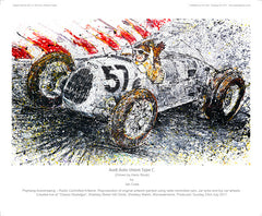 Audi Auto Union Type C driven by Hans Stuck