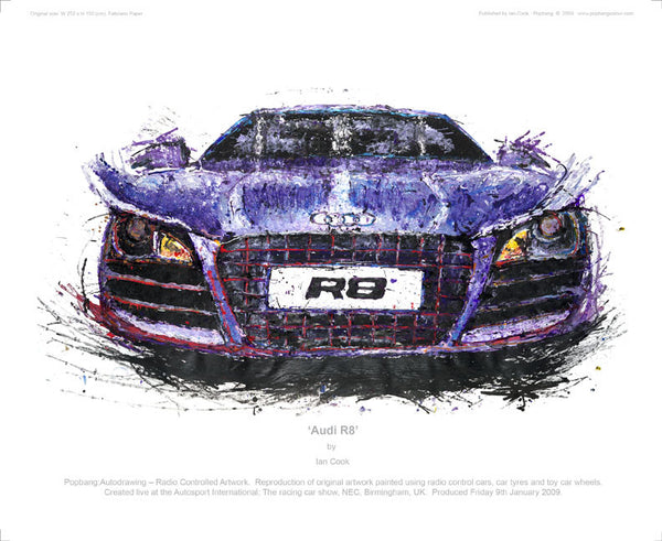 Audi R8 - POPBANGCOLOUR Shop