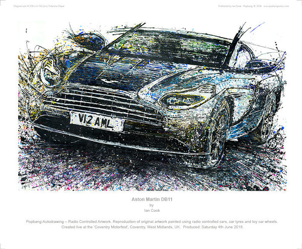 Aston Martin DB11 - POPBANGCOLOUR Shop