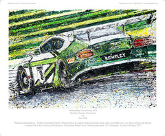 BENTLEY TEAM M-SPORT  - #8 Bentley Continental GT3