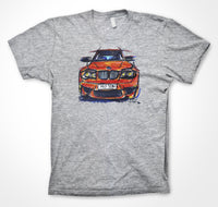 BMW 1M Coupe #ContinuousCar Unisex T-shirt