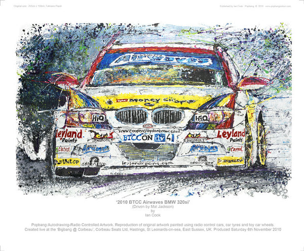 BMW 320si BTCC Airwaves 2010 - POPBANGCOLOUR Shop