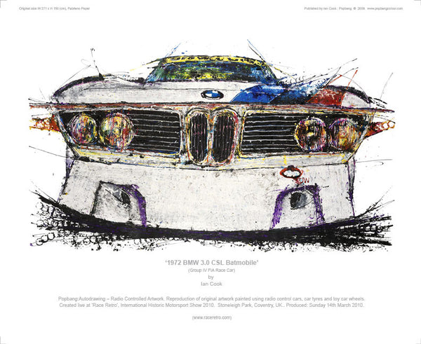 BMW 3.0 CSL Batmobile 1972 - POPBANGCOLOUR Shop