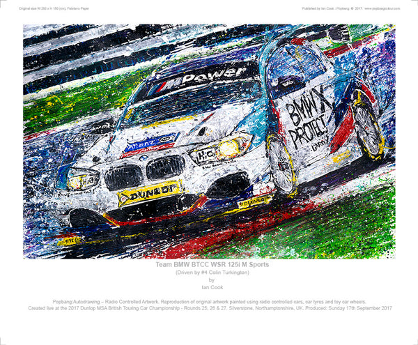 BMW 125i M Sports Team BMW BTCC WSR - POPBANGCOLOUR Shop