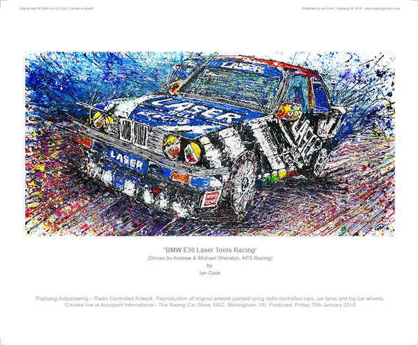 BMW E30 'Laser Tools Racing' - POPBANGCOLOUR Shop