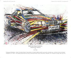 BMW E36 Players Rotiform (Jeff Koons replica)