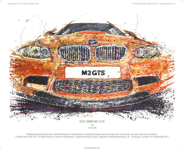 BMW M3 GTS 2011 - POPBANGCOLOUR Shop