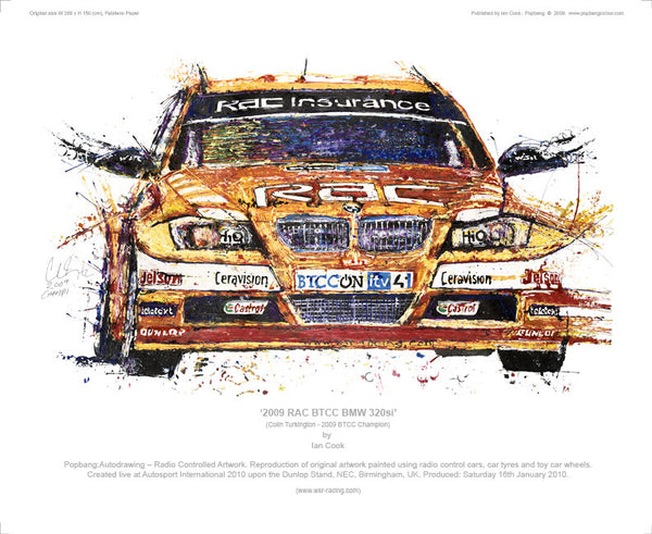 BMW 320si RAC BTCC 2009 (Turkington) - POPBANGCOLOUR Shop