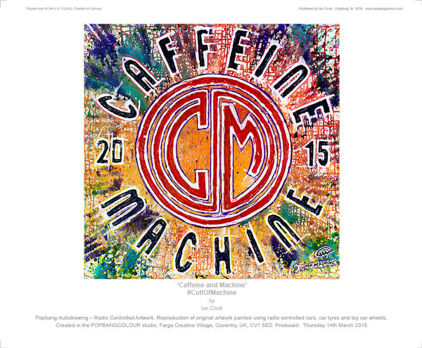 Caffeine & Machine - POPBANGCOLOUR Shop