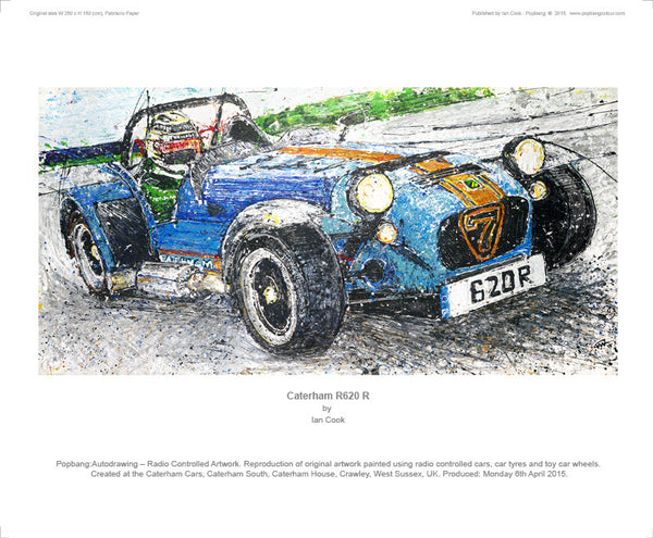 Caterham 620 R - POPBANGCOLOUR Shop