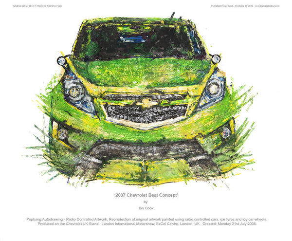 Chevrolet Beat 2007 (Concept) - POPBANGCOLOUR Shop