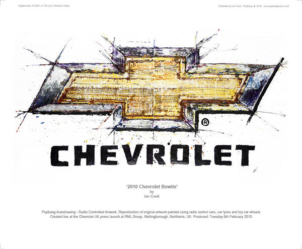Chevrolet Bowtie 2010 - POPBANGCOLOUR Shop