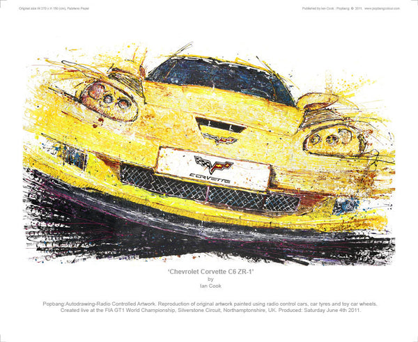 Chevrolet Corvette C6 ZR-1 - POPBANGCOLOUR Shop