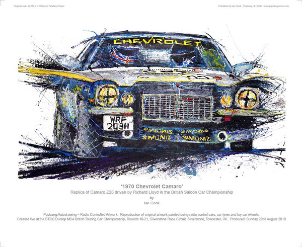 Chevrolet Camaro 1970 - POPBANGCOLOUR Shop