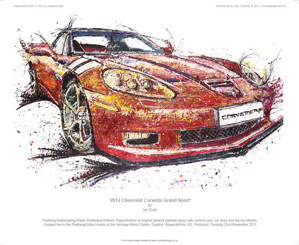 Chevrolet Corvette Grand Sport - POPBANGCOLOUR Shop