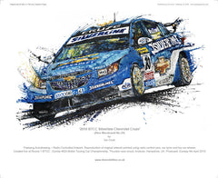 Chevrolet Cruze BTCC Silverline (Macdowall No.20) 2010