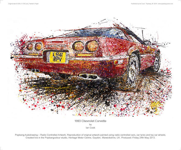 Chevrolet Corvette 1993 - POPBANGCOLOUR Shop