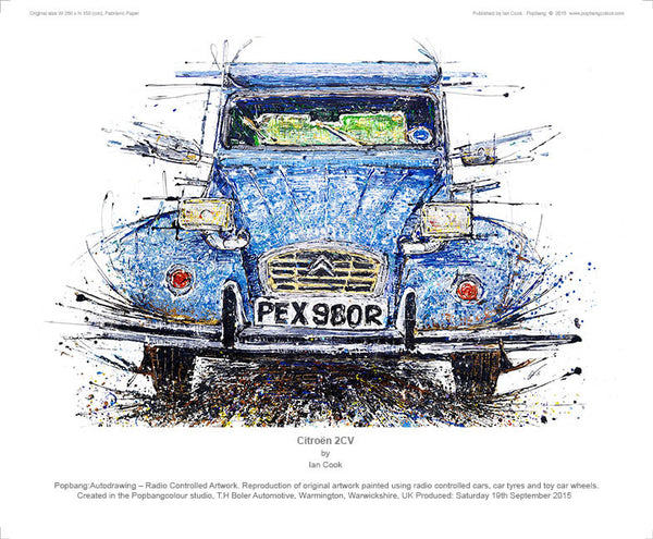 Citroen 2CV - POPBANGCOLOUR Shop