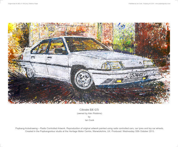 Citroën BX GTi - POPBANGCOLOUR Shop