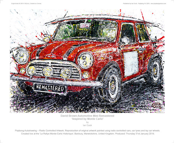 David Brown Automotive Mini Remastered 'Inspired by Monte Carlo' - POPBANGCOLOUR Shop