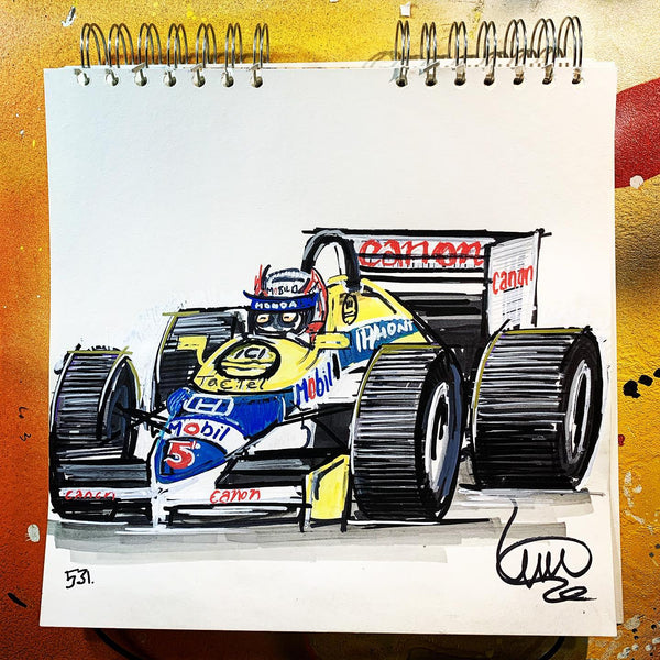 "#ContinuousCar Williams Racing F1 | ""Red 5"" 