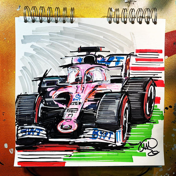 #ContinuousCar BWT Racing Point F1 Team | Sergio Perez #11