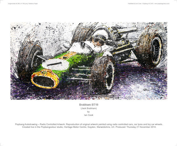F1 Brabham BT19 - POPBANGCOLOUR Shop