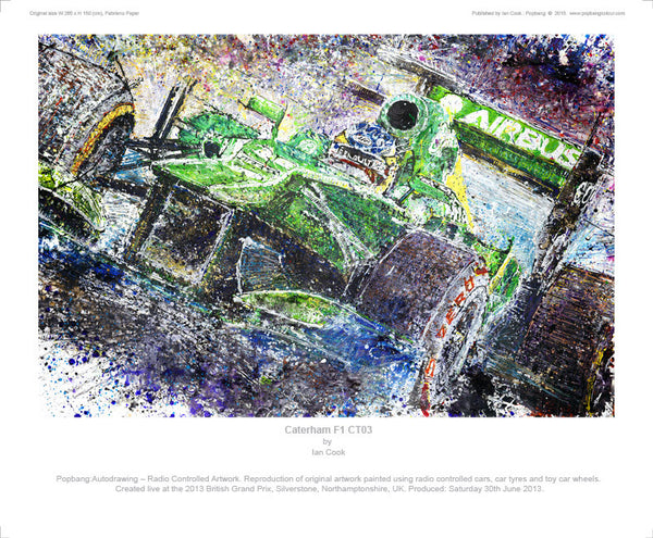 F1 Caterham CT03 - POPBANGCOLOUR Shop