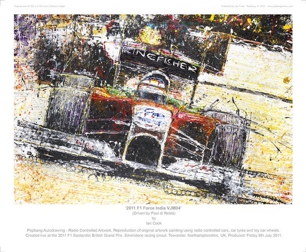F1 Force India VJM04 2011 - POPBANGCOLOUR Shop