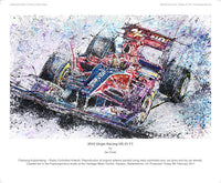 F1 Virgin Racing VR-01 2010 - POPBANGCOLOUR Shop