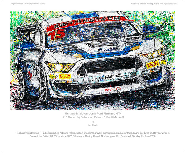 Multimatic Motorsports Ford Mustang GT4 - POPBANGCOLOUR Shop