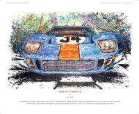 Ford Gulf GT40 No.34 - POPBANGCOLOUR Shop