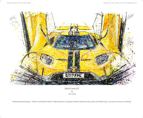 2018 Ford GT - POPBANGCOLOUR Shop