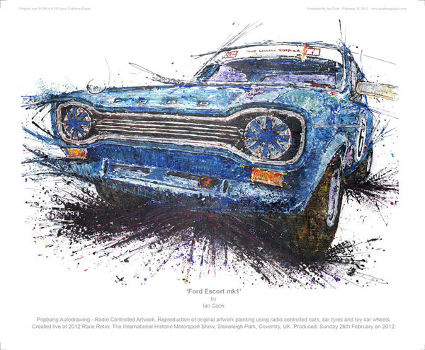 Ford Escort mk1 - POPBANGCOLOUR Shop
