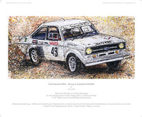 Ford Escort MKII - Group4 modified RS2000 - POPBANGCOLOUR Shop